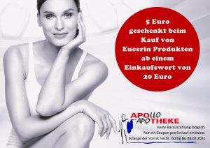 5 Euro Sofort-Rabatt für Eucerin